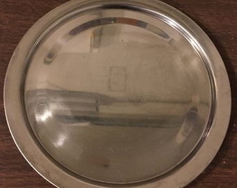 Vintage Stainless Steel Monarch Plate