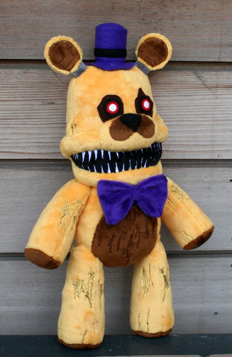 Nights Five PlushEtsy At Freddy Fredbear NZ8n0OPkwX