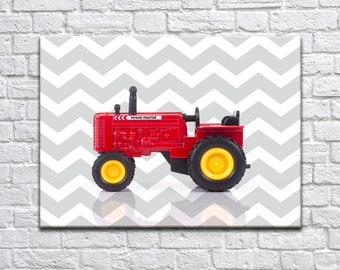 Tractor nursery print, boys room decor, nursery poster, nursery decor, tractor room decor, tractor poster, transportation decor, tractor art