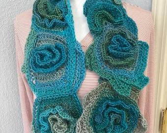 Free form scarf