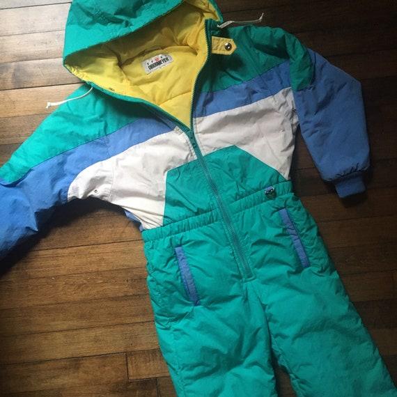 Kids Obermeyer Sport Snowsuit 1980s