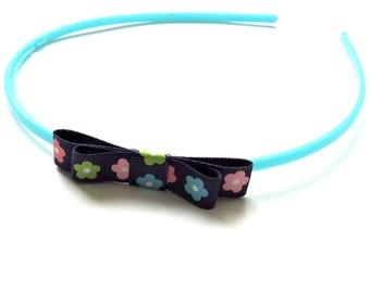 "Headband ""Double knot"" turquoise"