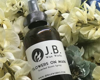 FLOWERS ON MAIN Scented Room Spray
