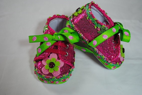 Ophelia Girl's Baby Shoes 0-3 months   Etsy