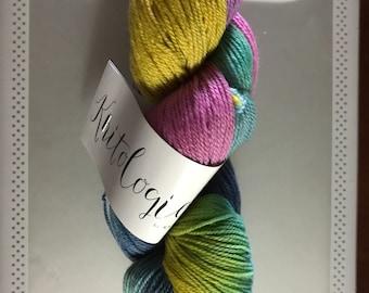 "Knitologie by Knitcrate ""Twist"" Superwash Sock 400 yds."