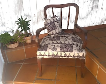 Country, vintage Chair