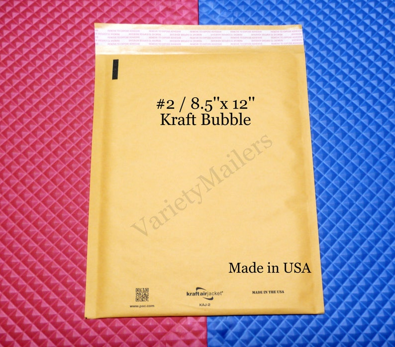 #2 300 QUALITY USA 8.5X12 BUBBLE MAILERS ENVELOPES