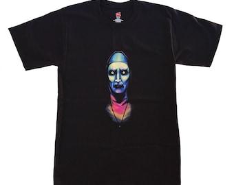The Neon Nun, The Conjuring, Horror T Shirt, Halloween, Neon