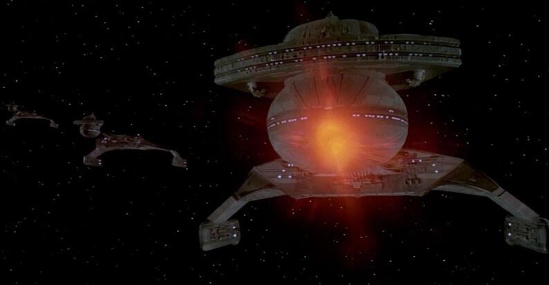 Star Trek Klingon Battlecruiser 1:350 Polar Lights Compatible Scale Model  Kit Movie Quality Led Light/Sound System