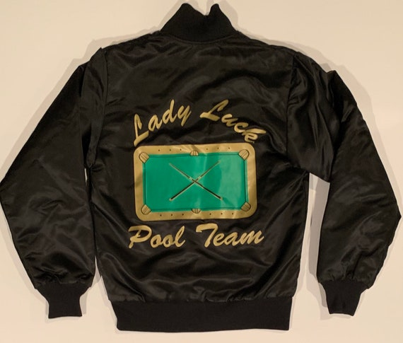 Spectacular Circa 1950's Satin Style Lady Luck Poo