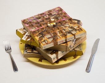 Waffling Romance | Food For Thought Sculpture
