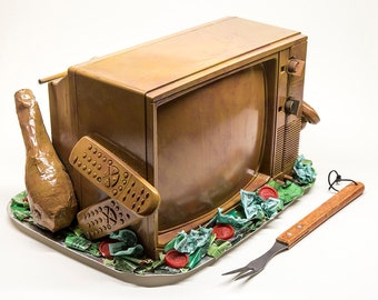 TV Dinner | Food For Thought Sculpture
