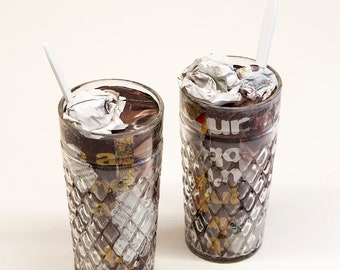 His & Her Brain Freeze | Food For Thought Sculpture