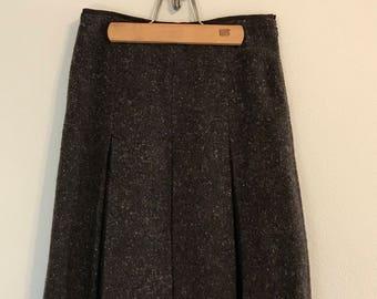 d25f74229ba0 Vintage Alberta Ferretti Wool Mid Lenght Skirt