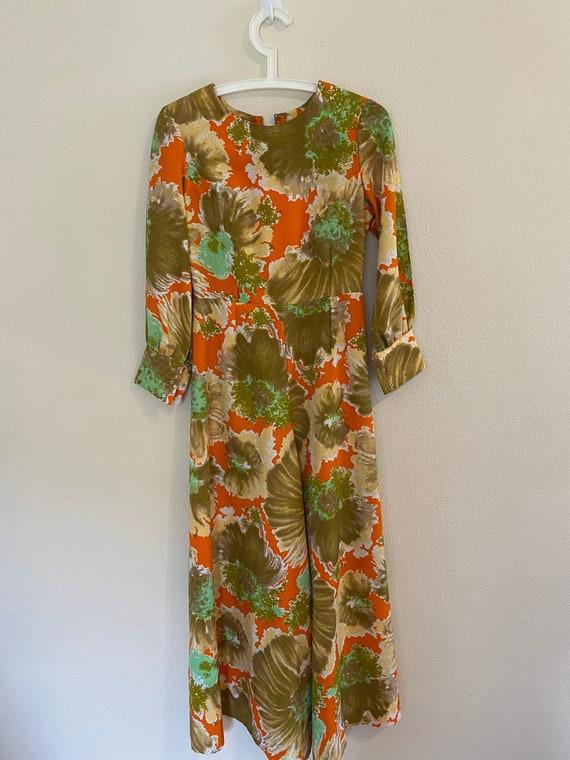 70's summer jump suit