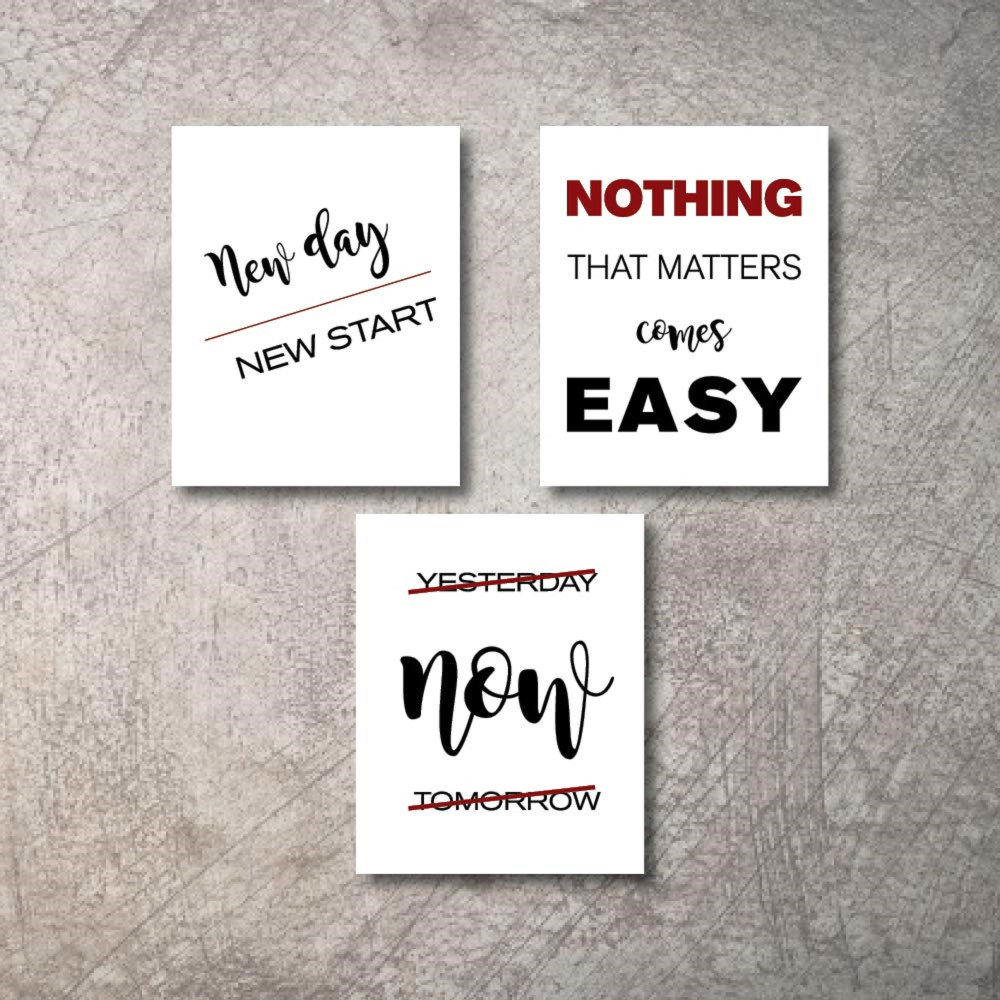 motivational office wall decor art prints inspirational quote
