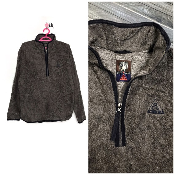 90s vintage NIKE ACG fleece sweatshirt