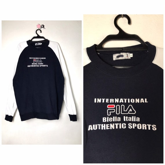 90s vintage Fila sweatshirt