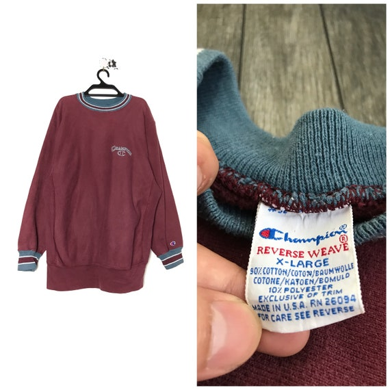 90s vintage CHAMPION REVERSE weave Usa
