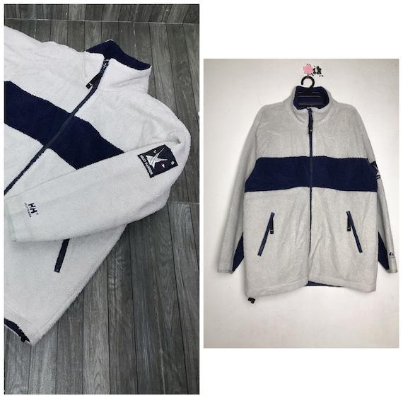 90s vintage Helly hansen fleece jacket