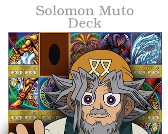 Yu-Gi-Oh! Oricas Solomo Muto Deck *FREE SHIPPING WORLDWIDE*