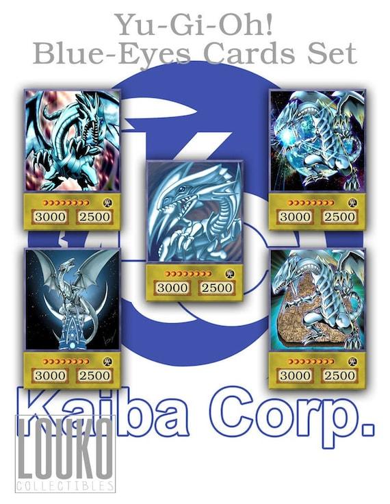 Yu-Gi-Oh Blue-Eyes White Dragon Sweater Hoodie Coat Card Image design Boy/'s Gift