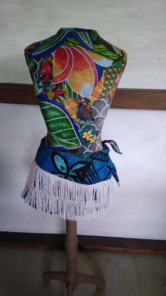 Hawaiian Beach party cover up