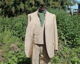 b3f4c34868b 1930s 3 piece mens suit