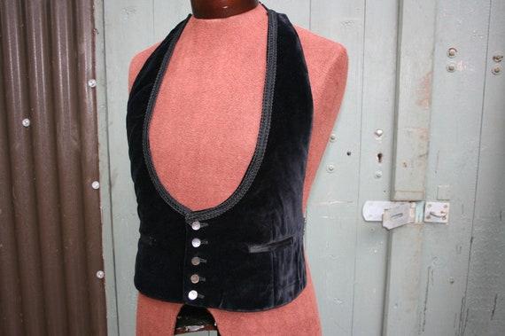 Vintage 1940s mans evening waistcoat, Akco tailore