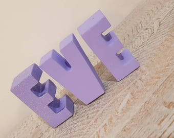 Cement Letters | Concrete Letters | Personalised baby gift | Nursery Decor | New baby gift | Baby shower gift | Letter set | wedding gift |