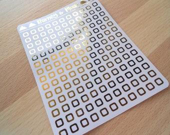 FOIL Checkbox | Planner Stickers