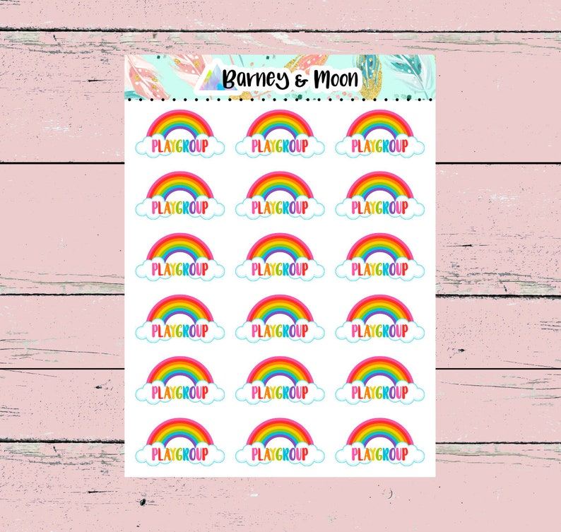 Playgroup  Planner Stickers image 0