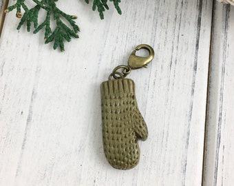 You Choose! Cedar Leaf Impression Progress Keeper or Stitch Marker