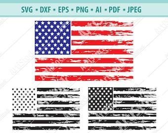 Distressed flag | Etsy