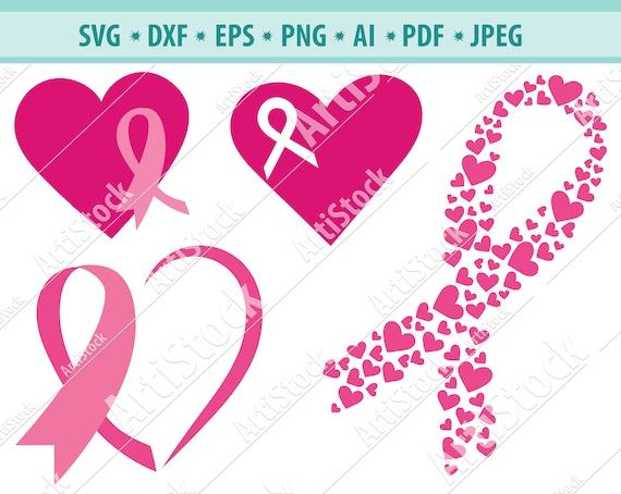 Cancer Ribbon Svg Cancer Survivor Awareness Ribbon Svg Etsy