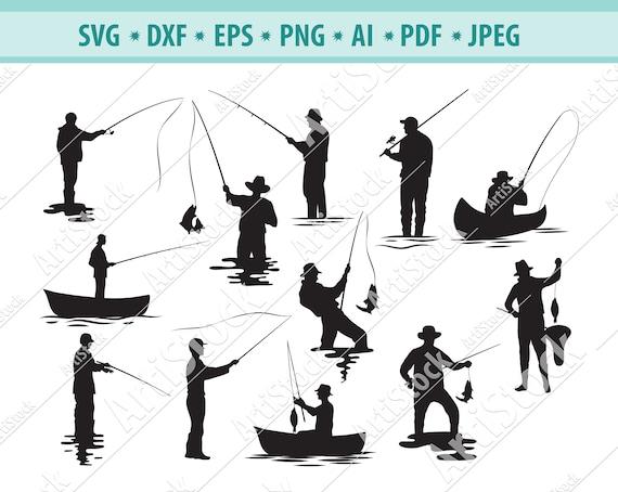 Download Fishing Svg Water Recreation Svg Sport Fishing Svg Etsy