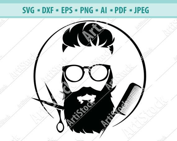 Barber Barbershop Hair Hairdresser Haircut Business Beard Etsy