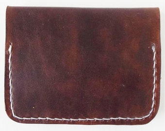 Leather Minimal Leather Wallet - Card Wallet