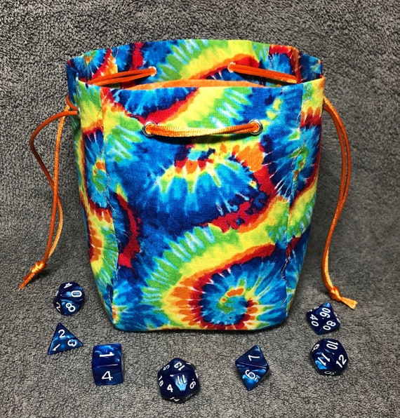 Lizards /& Crystals Dice Bag