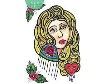 Gypsy Queen - A3 print
