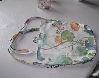 Spring floral handbag