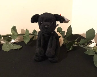 35a0fa5dc68 Ty Beanie Babie - Dog - 1999 - Luke - RARE Gasport Error on Tag
