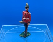 20 39 s - 50 39 s Painted Lead Soldier With Horn Instrument 6.2cm