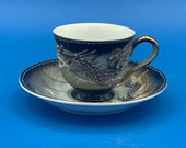 Moriage Dragon Ware Cup and Saucer 1950 39 s Japan