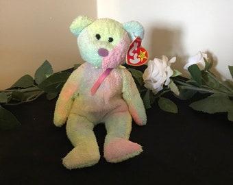f4d51901e8b Ty Beanie Babie - Bear - 1999 - Groovy
