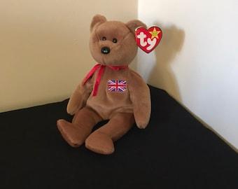 b1045989f91 Ty Beanie Babie - Bear - 1997 - Britannia