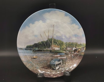 Pin Mill, Safe Harbours Collection - Danbury Mint - Wedgwood. With original box and papers