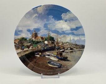 Safe Harbours Series - Maldon by Wedgwood, Danbury Mint - Boxed with Certificate