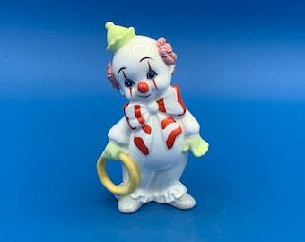 Nice Quality Maruri Masterpiece Little Clown Figurine 9.7cm 1970's