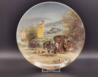Furstenberg Plate, Am Mausefurm in Bingen, Boxed with papers